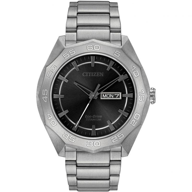 Herren Citizen Eco-Drive Watch AW0060-54H