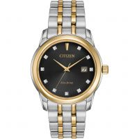 Hommes Citizen Diamant Eco-Drive Montre