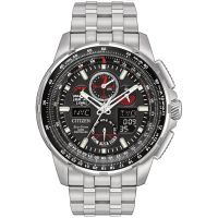 homme Citizen Skyhawk A-T Alarm Chronograph Radio Controlled Watch JY8050-51E