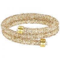 Ladies Swarovski Gold Plated Crystaldust Bangle 5237763