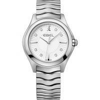 Ebel Wave Dameshorloge Zilver 1216302