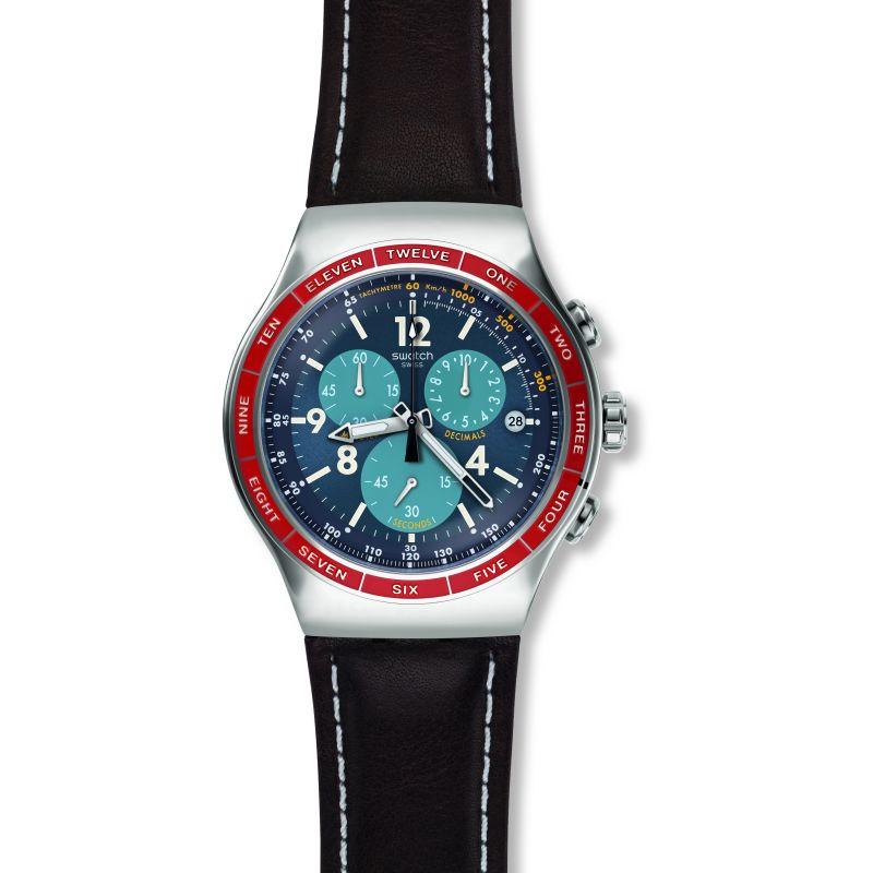 Mens Swatch Recoleta Chronograph Watch