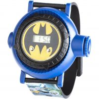 Character Batman Multi-Projection Kinderenhorloge Zwart BAT13DC