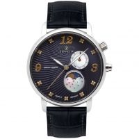 Mens Zeppelin Luna Mondphase Watch