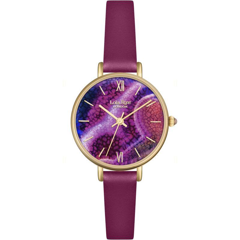 Damen Lola Rose Agate Watch LR2038