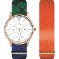 Unisex Smart Turnout Time Watch STK2/RO/56/W-BWT-ORA