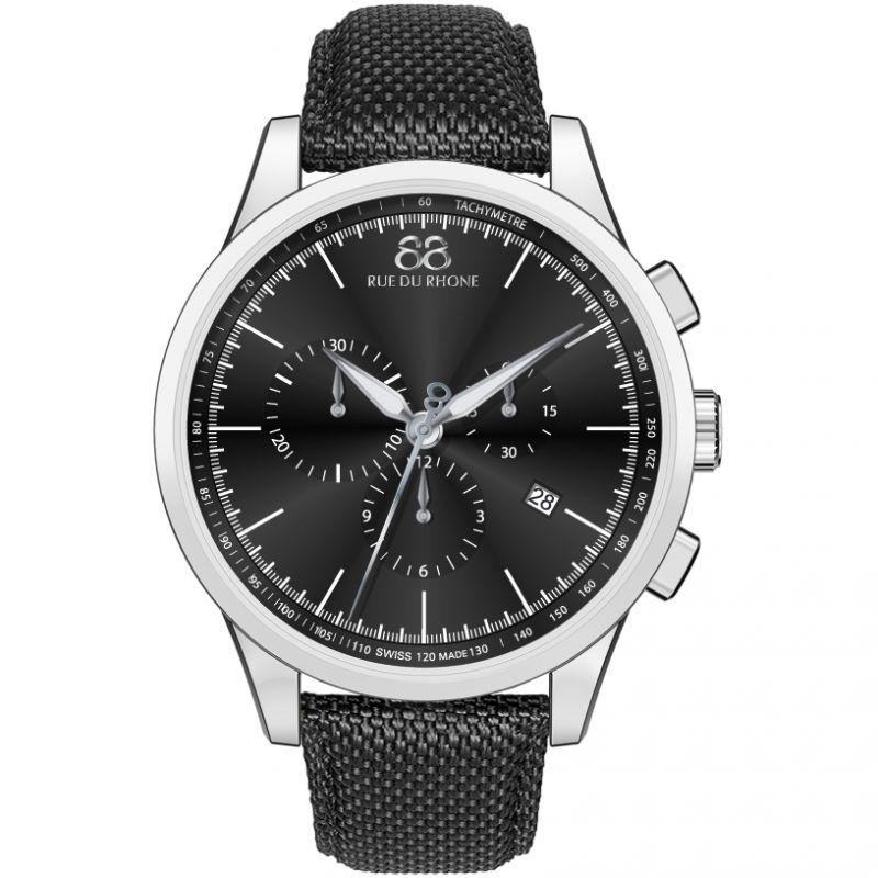Mens 88 Rue Du Rhone Rive Exclusive Chronograph Watch