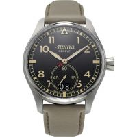 Herren Alpina Startimer Pilot Uhr