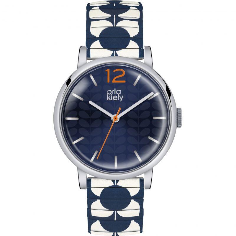 Ladies Orla Kiely Pop Watch