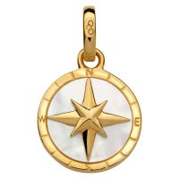 Biżuteria damska Links Of London Jewellery Amulet Keepsakes Mother of Pearl Compass 5030.2542