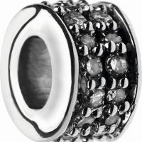 Biżuteria damska Links Of London Jewellery Pave Rondel Diamond XS Pave Mini Bead 5030.2360
