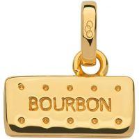 Ladies Links Of London Sterling Silver British Tea Keepsakes Bourbon Biscuit Charm 5030.2536
