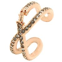 Juicy Couture Jewellery Pave Infinity Luxe Wishes Ring JEWEL