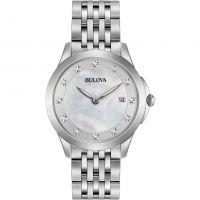 Damen Bulova Diamant Uhr