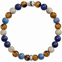 femme Thomas Sabo Jewellery Rebel At Heart Stretch Skull Bracelet Watch A1532-926-7-L15.5