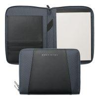 N/A Hugo Boss Pens Base metal Keystone Grey A5 Conference Folder HTM602H