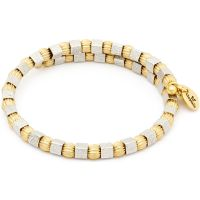 Ladies Chrysalis Two-tone steel/gold plate Gaia Moon Wrap Bangle CRBW0001GS