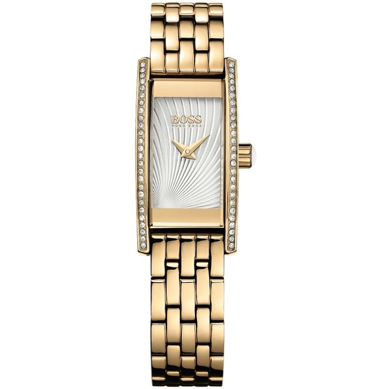 Hugo Boss Cocktail Damklocka Guld 1502384
