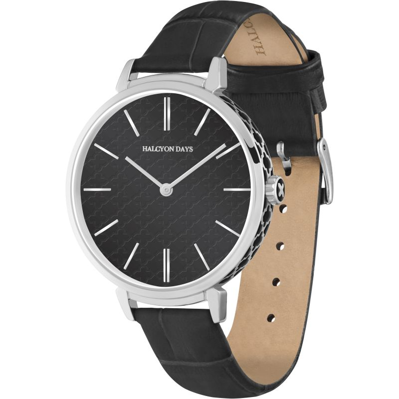 Agama Sport Black & Palladium  Watch