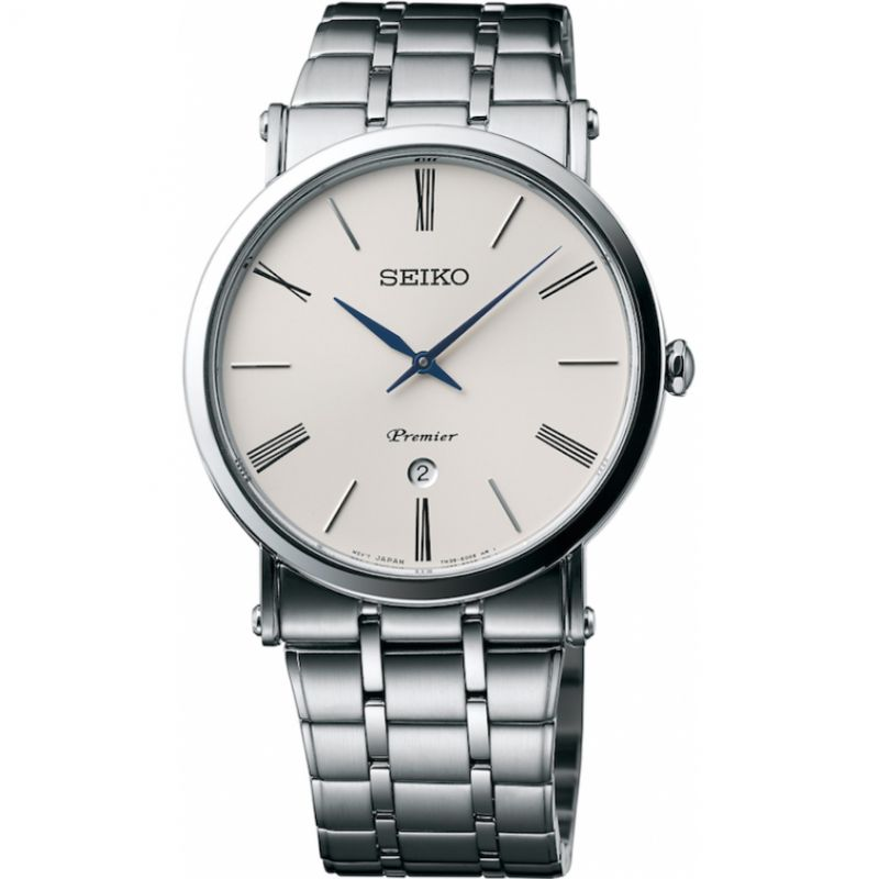 Mens Seiko Premier Watch