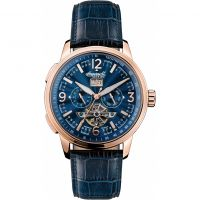 Ingersoll The Regent Multifunction Herenhorloge Blauw I00301