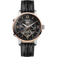 Ingersoll The Grafton Multifunction Herenhorloge Zwart I00702