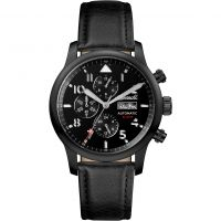 Ingersoll The Hatton Multifunction Herenhorloge Zwart I01402