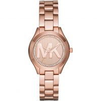 Michael Kors Mini Slim Runway Dameshorloge Rose MK3549