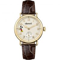 Ingersoll The Trenton Disney Limited Edition Dameshorloge Bruin ID00102