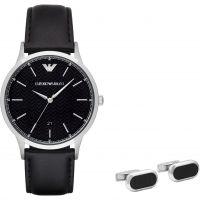 Herren Emporio Armani Geschenk-Set Uhr