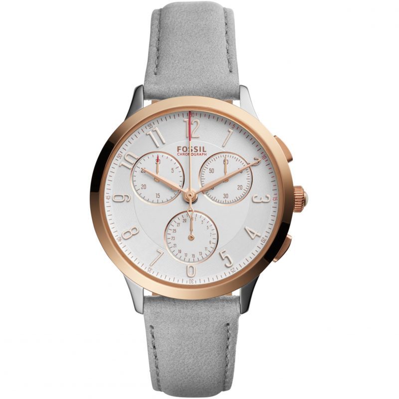 Ladies Fossil Abeline Chronograph Watch CH3071
