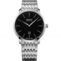 Hugo Boss Swiss Made Slim Herrklocka Silver 1513259