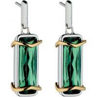 femme Fiorelli Jewellery Green Crystal Earrings Watch E5147G