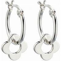 Orla Kiely Jewellery Flower Hoop Earrings JEWEL