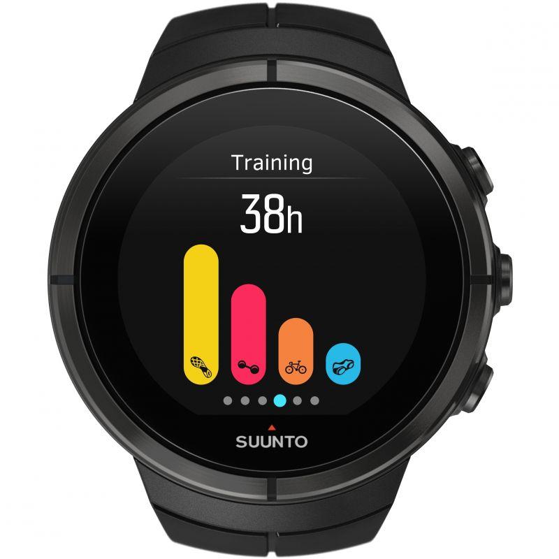 Unisex Suunto Spartan Ultra All Black Titan HR Bluetooth Alarm Watch