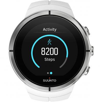 Unisex Suunto Spartan Ultra Ultra White HR Bluetooth Alarm Chronograph Watch SS022660000