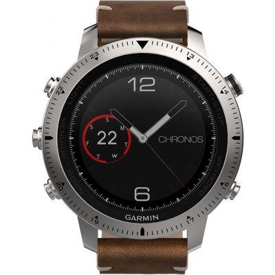 Mens Garmin Fenix Chronos Bluetooth GPS HR Alarm Chronograph Watch 010-01957-00