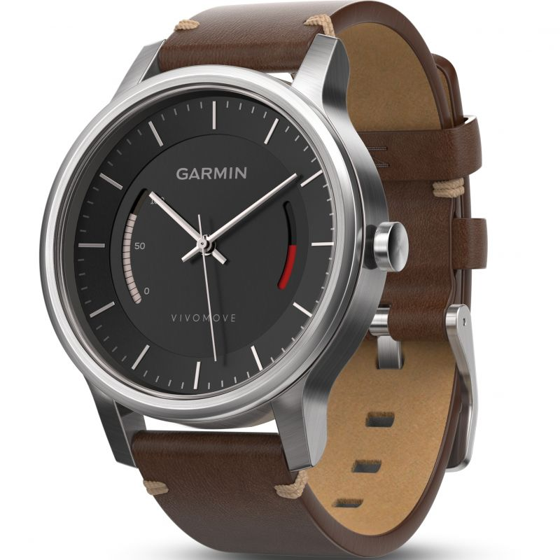 Unisex Garmin Vivomove Premium Bluetooth Activity Tracker Watch