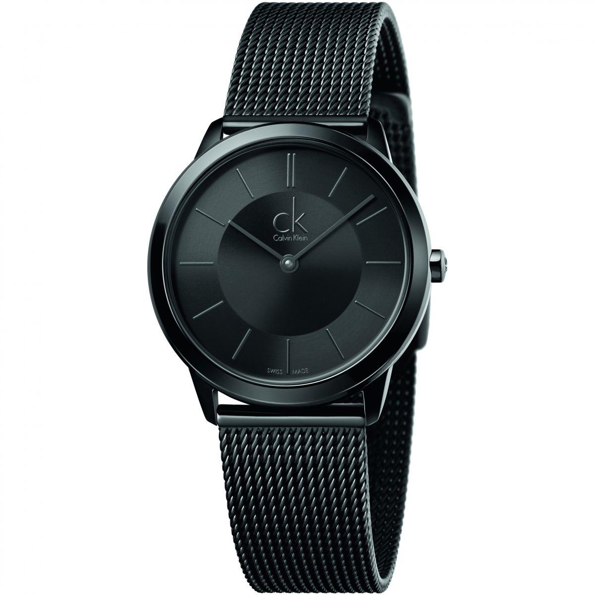 Relojes de hombre en negro