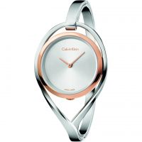 femme Calvin Klein Light Medium Bangle Watch K6L2MB16