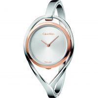 femme Calvin Klein Light Small Bangle Watch K6L2SB16