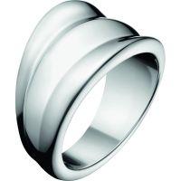 Damen Calvin Klein Edelstahl Größe O Glorious Ring