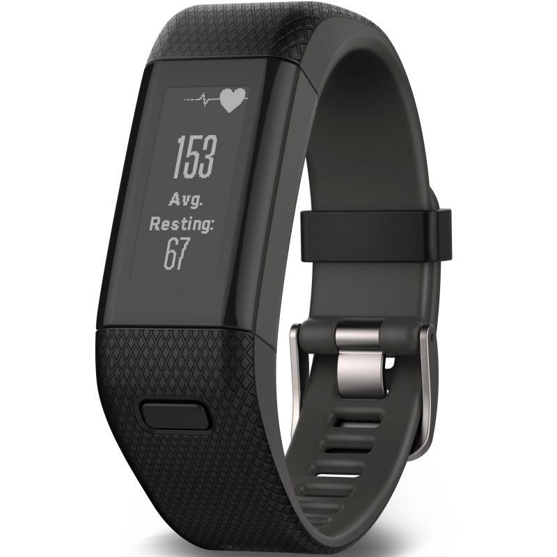 Unisex Garmin Vivosmart HR+ Alarm Chronograph Watch