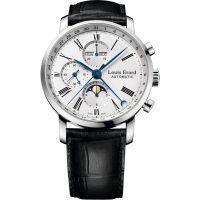 Herren Louis Erard Excellence Moonphase Automatik Chronograf Uhr