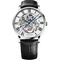 Herren Louis Erard Excellence Skelett Automatik Uhr