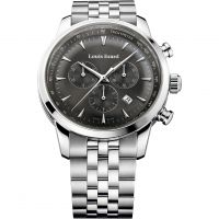 homme Louis Erard Heritage Chronograph Watch 13900AA03.BMA38
