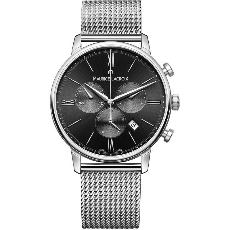 Herren Maurice Lacroix Eliros Chronograph Watch EL1098-SS002-310-1