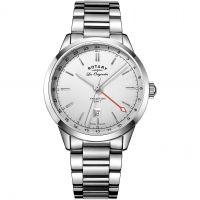Herren Rotary Schweizer hergestellt Tradition Quarz Uhr