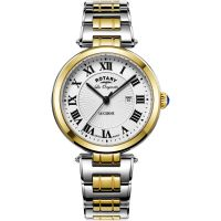 Damen Rotary Swiss Made Lucerne Midsize Quartz Watch LB90188/01/L