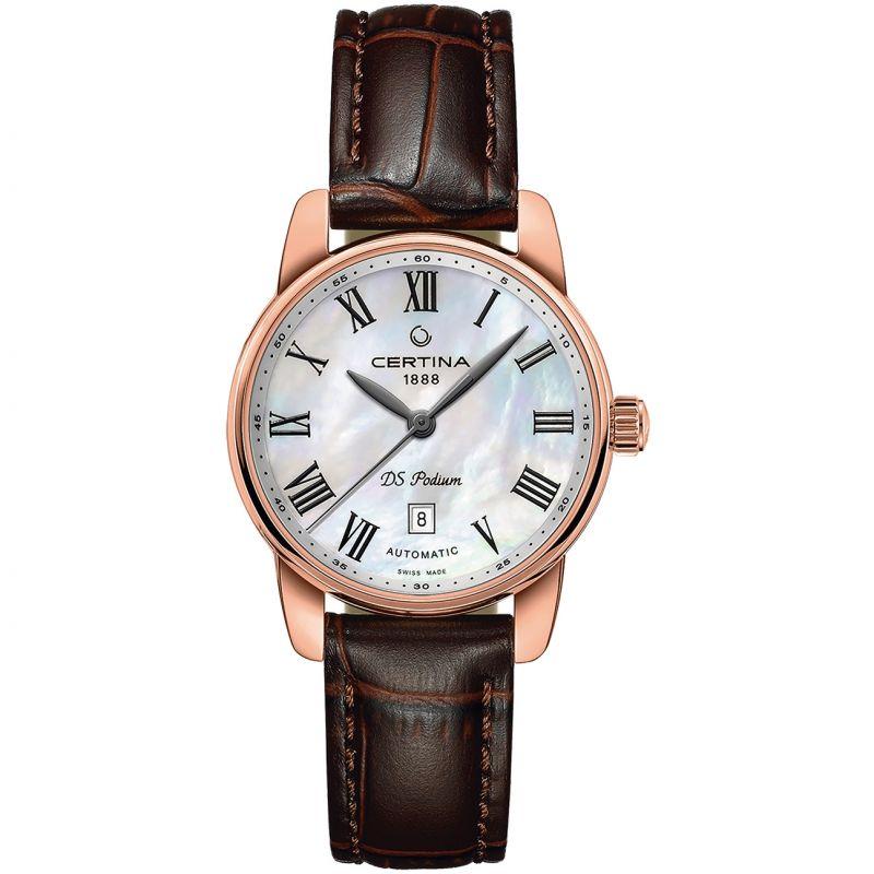 Ladies Certina DS Podium Automatic Watch
